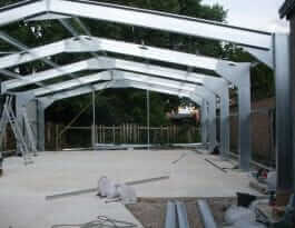 industrial steel buildings - frame kit